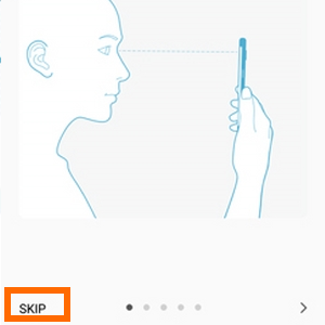 Galaxy Note7 Iris Scanner - Register Iris - SKip Info