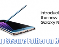 How to Setup Secure Folder on Note7