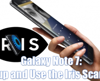 How to Setup and Use the Iris Scanner on Samsung Galaxy Note 7