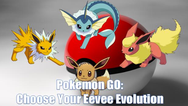 How To Choose Eevee Evolution In Pokemon GO