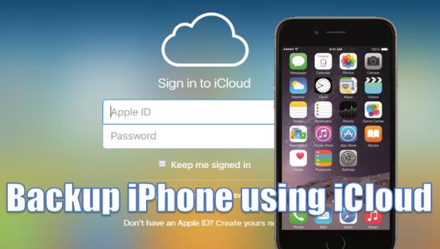 backup-iphone-using-icloud-account