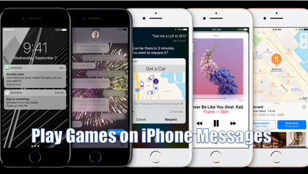 How to Play Games on Messages for iPhone iOS 10