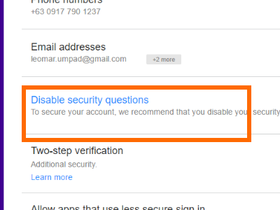 yahoo-disable-security-question