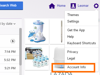 yahoo-settings-account-info