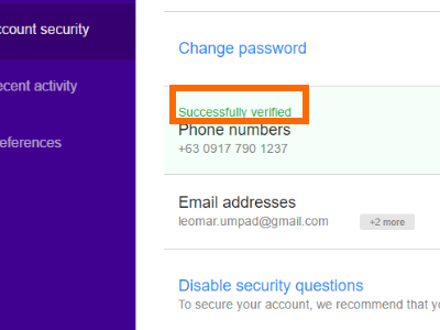 yahoo-settings-account-success-verified