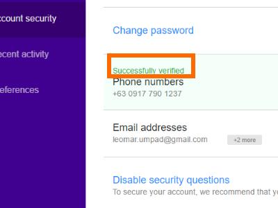 yahoo-settings-account-success-verified