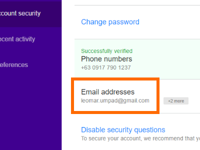 yahoo-settings-recovery-email-address