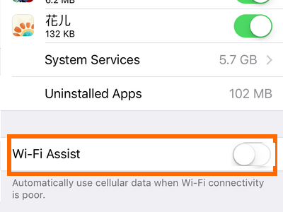 Switch between Wi-Fi and Cellular Data Automatically on iPhone