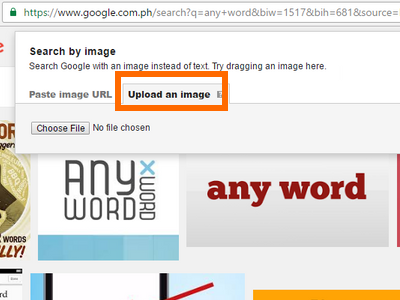google-image-search-upload-button
