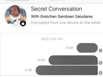 how to read secret messages on facebook
