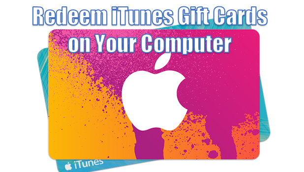 use itunes gift card