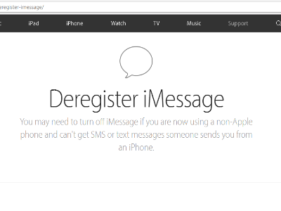 imessage-deregister-site