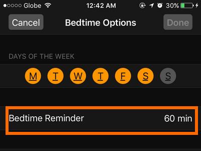 iphone-clock-bedtime-reminder