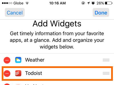 iphone-widget-view-edit-drag-widget-and-release