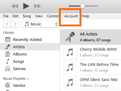 itunes-account-menu