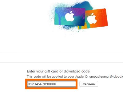 Apple Itunes Gift Card Unreadable Code - Gift Ideas