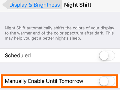 iphone-settings-night-switch-manually-enable-until-tomorrow