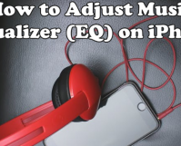 Adjust Music Equalizer EQ on iPhone