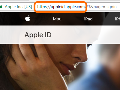 Apple ID Site