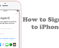 How to Sign in to iPhone