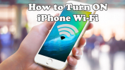 how to turn on iPhone Wi-Fi