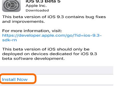 iPhone General Settings Update iOS Install