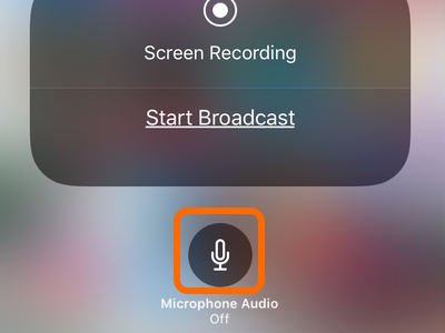 iPhone Microphone Off