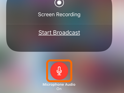 iPhone Microphone On