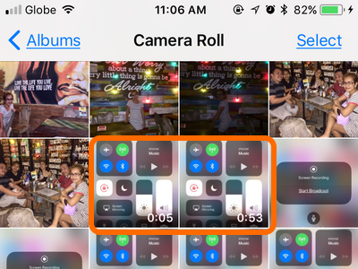 iPhone Recorded Videos