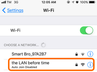 Best wifi security options for iphone to connect