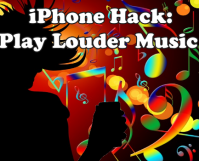 iPhone Trick - Play Louder Music on iPhone