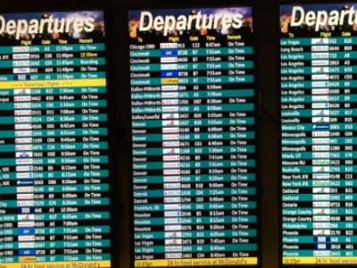 Airport Screen Schedules