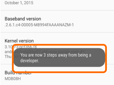 Android Steps Away from Being a Developer