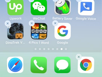 App moved to dock