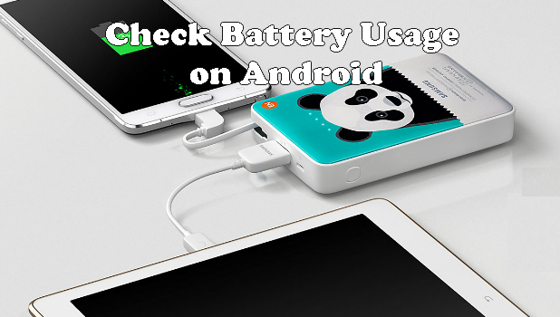 Check App Battery Usage on Android