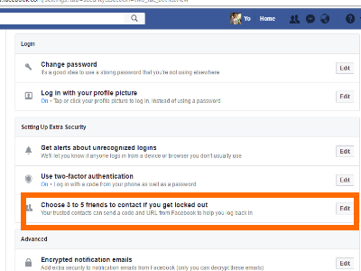 How to Set Up Trusted Contacts on Facebook