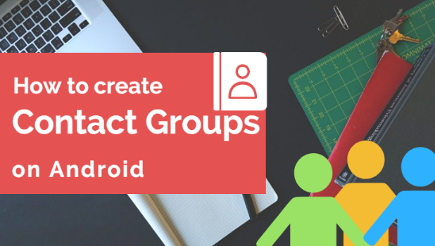 Create Group Contacts on android