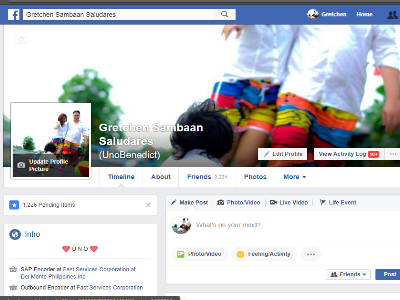 Facebook Change of Cover Photo Done