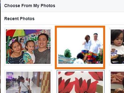 Facebook Profile Edit Cover Select Photo