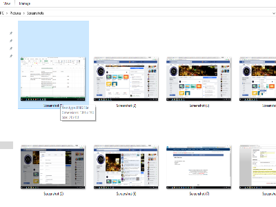 Folder with Images