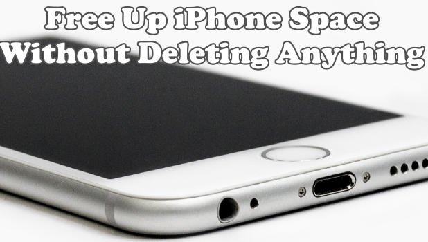 Free Up iPhone Space Without Deleting anything