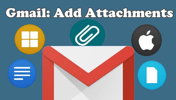 Gmail Add Attachments