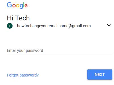 Gmail Login Page