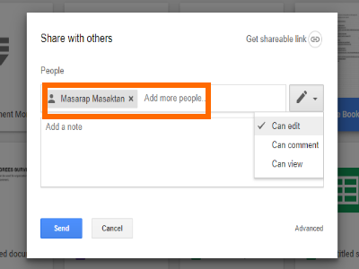 Google Drive File Share to Email