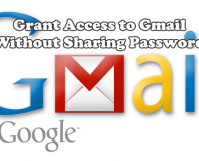 Grant Access to GMail without Sharing Passwords