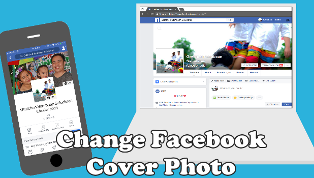 Photo facebook how to cover change