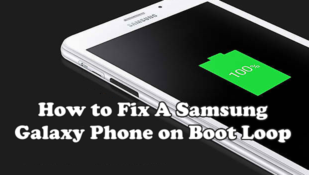 To Stuck Boot How A In Fix Galaxy Loop Phone Samsung