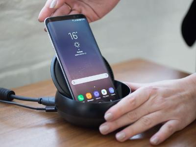 Mount Samsung S8 to Samsung DeX