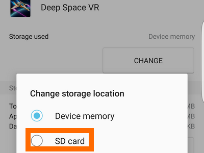 SD Card Option for Application Storage on Android
