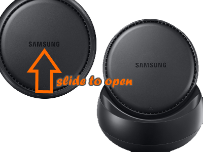 Samsung DeX Slide to Open